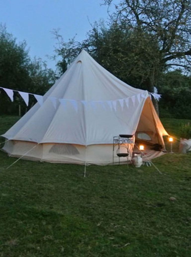 Camping in the Cotswolds