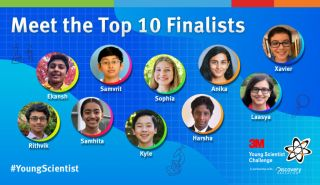 3M Young Scientist Challenge 2020 National Finalists