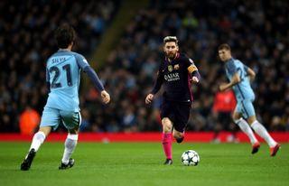Manchester City v Barcelona – UEFA Champions League – Group C – Etihad Stadium