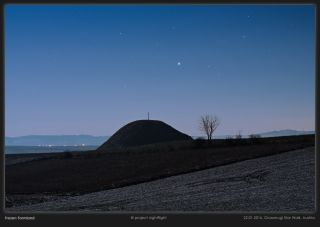 Sirius Over the Leeburg Tumulus