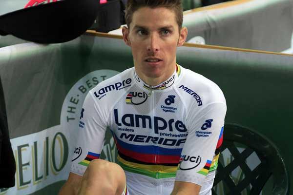 22d68a615 World Champion Rui Costa s new Lampre-Merida kit - Cycling Weekly