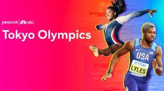 Peacock TV Olympics 2020 banner