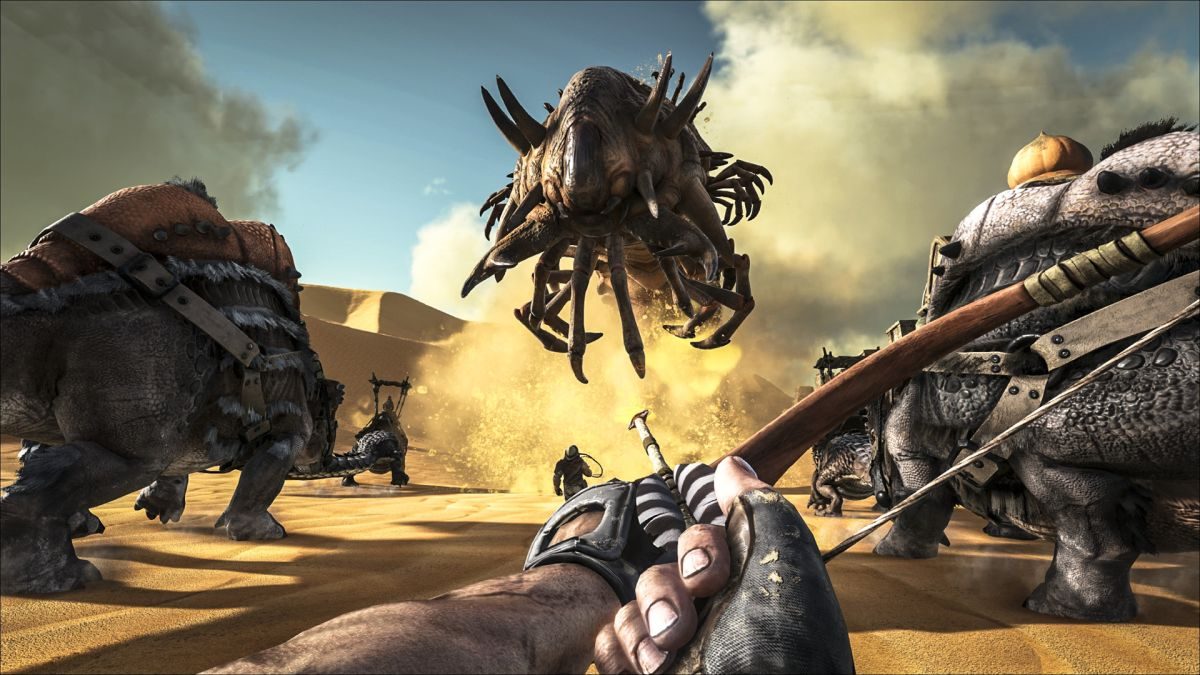 Ark: Survival Evolved launches first paid DLC from Early Access | PC