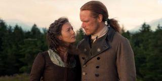 Sam Heughan and Caitriona Balfe in Outlander Season 5 trailer