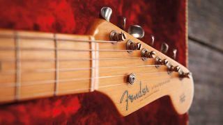 Fender Stratocaster headstock