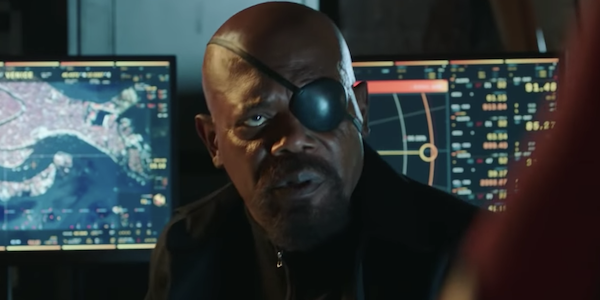 Samuel L. Jackson is Nick Fury in Spider-Man: Far From Home
