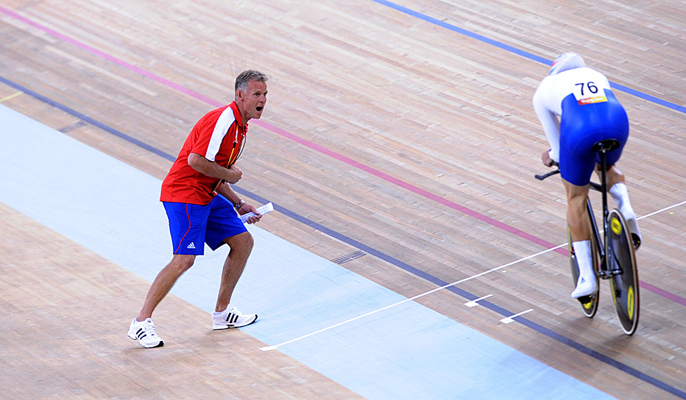 Shane Sutton Steven Burke Olympic Games 2008
