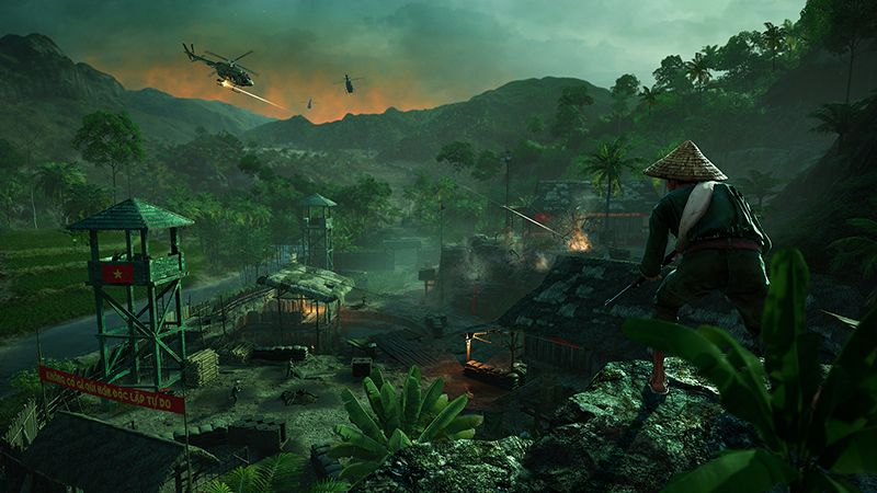 Far Cry 5 Hours Of Darkness Dlc Focuses On Stealthy Survival In The Vietnam War Pc Gamer