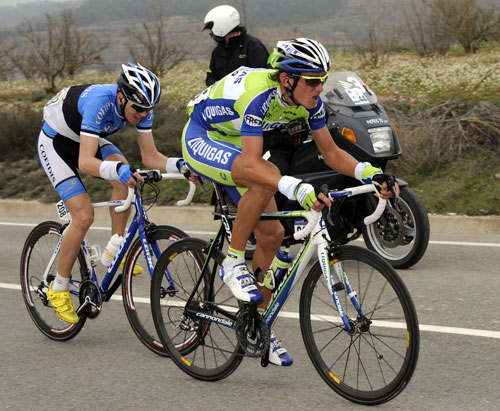 Kreuziger and Taaramae, Tour of Catalonia 2010, stage four