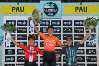Marianne Vos won the 2019 La Course and the overall Women's WorldTour title