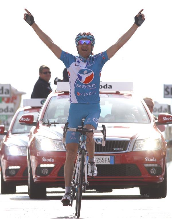 Johann Tschopp, Giro d'Italia 2010, stage 20