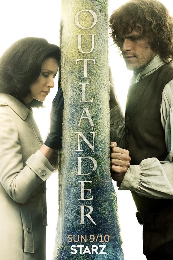 outlander season 3 poster starz