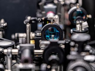 The optical switch developed by IBM and Moscow-based researchers.