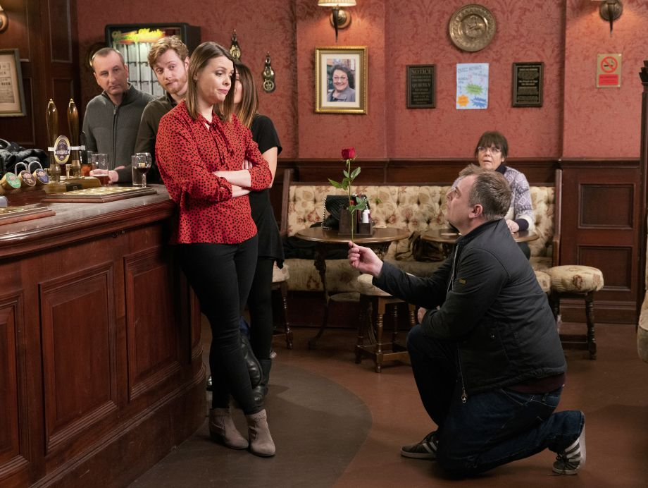 Coronation Street spoilers: Steve McDonald asks Tracy to marry him… again!
