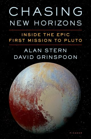 """Chasing New Horizons"" (Picador, 2018) by Alan Stern and David Grinspoon"