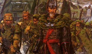 Gaunt's Ghosts, from one of the best 40K books
