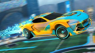 Rocket League Season 3 Battle Pass car.