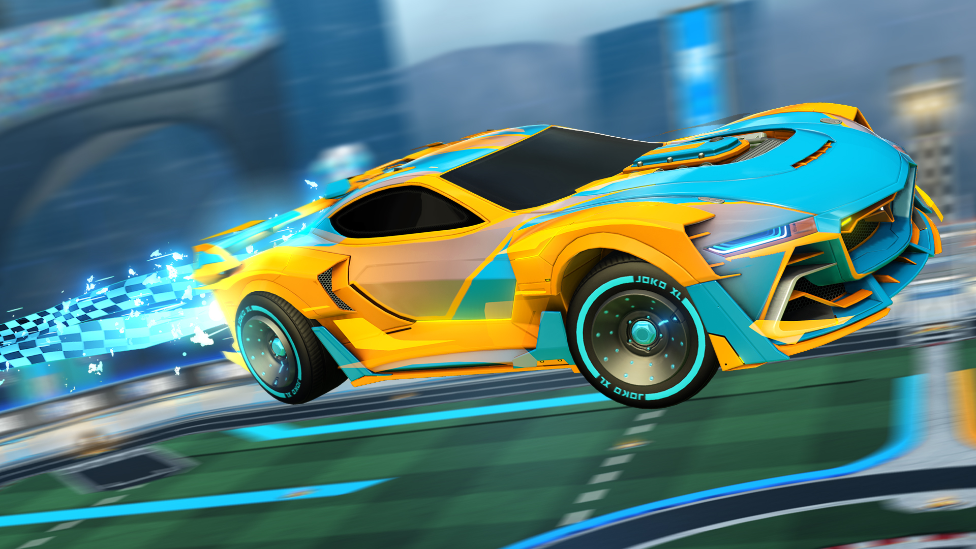 The car in Rocket League's next Rocket Pass looks cool, rest of it is so-so