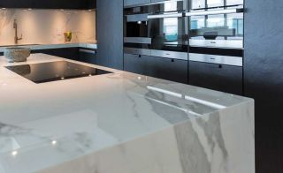 Best types of kitchen worktop granite quartz marble - Encimera formica precio ...