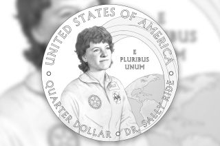 The United States Mint has revealed the revised final design for the 2022 Sally Ride American Women quarter dollar coin.
