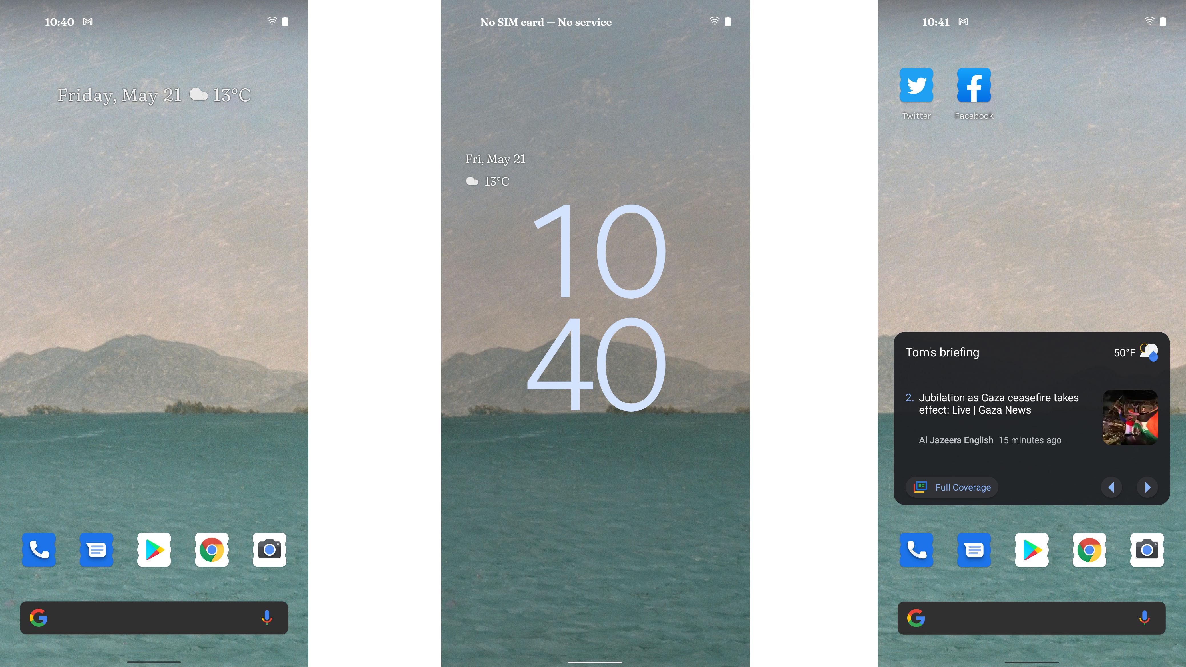 Android 12 beta screenshots