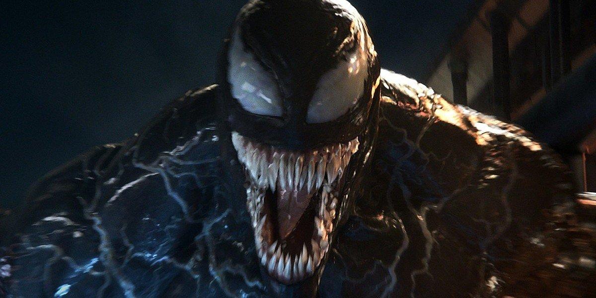 Tom Hardy as Venom in Venom (2018)