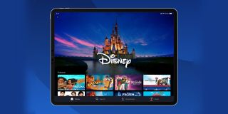 The Disney Plus app
