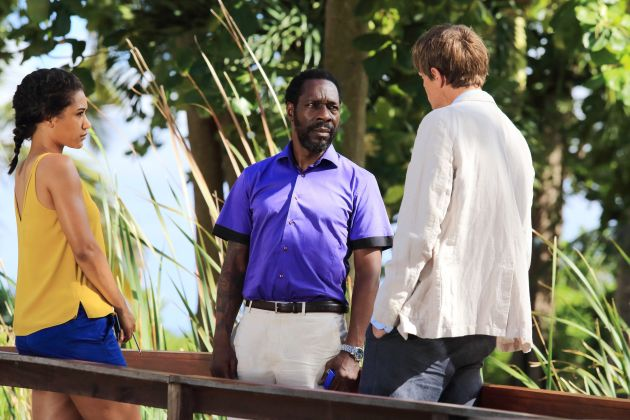 From Albert Square To St Marie Ex Eastender Gary Beadle Stars In Death In Paradise
