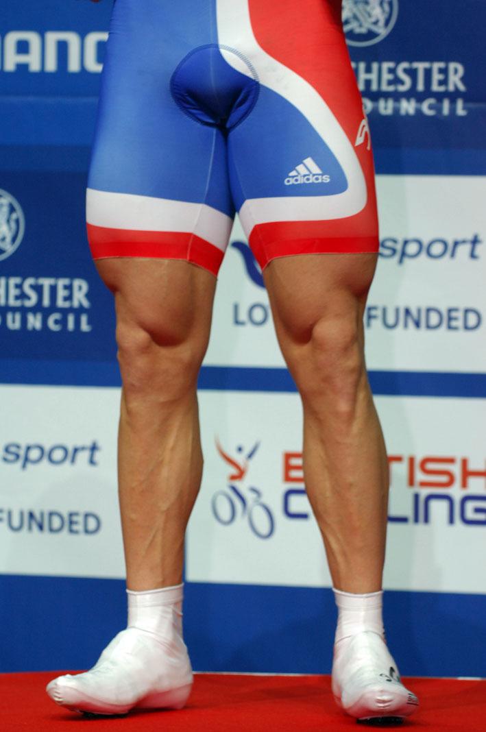 Chris Hoy's legs