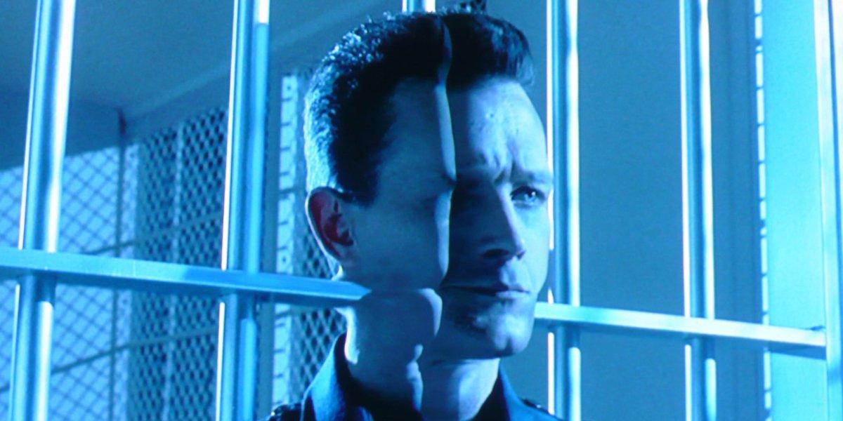 Robert Patrick as T-1000 in Terminator 2: Judgment Day