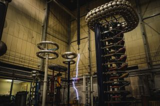 Scientists at the University of Manchester's High Voltage Laboratory hit the drone with more than 1 million volts to simulate a lightning strike.