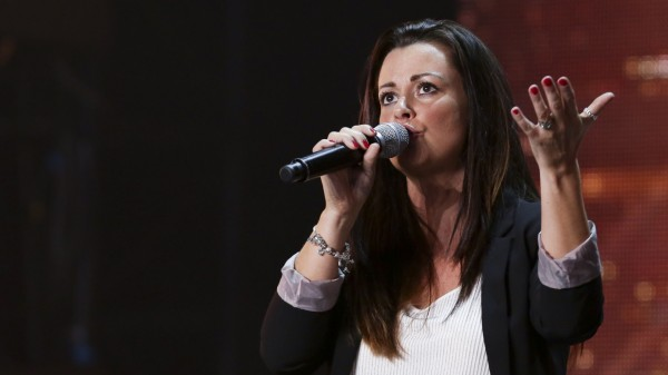 X Factor's Sherilyn Hamilton Shaw sings Whitney