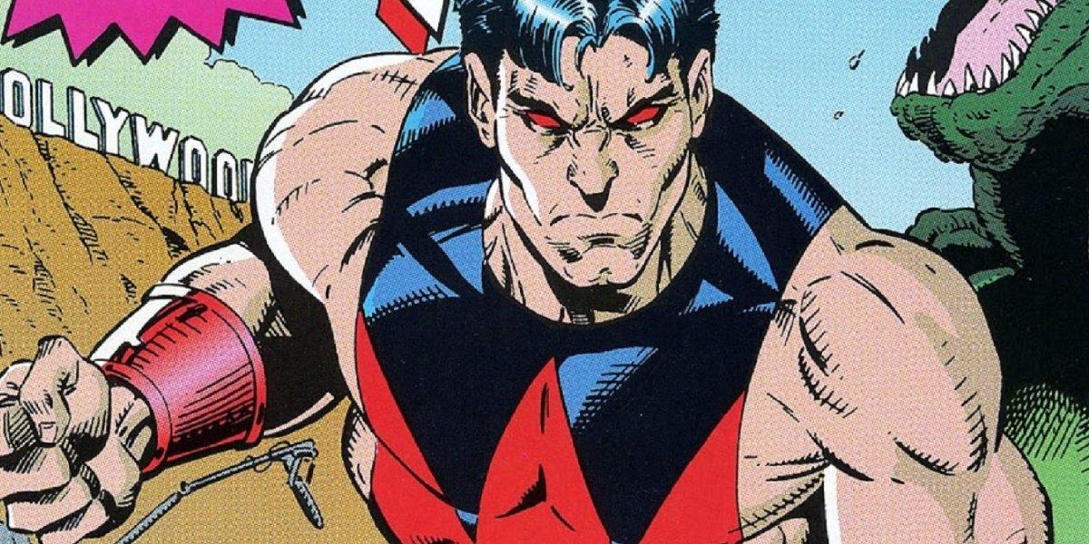 Wonder Man sees red