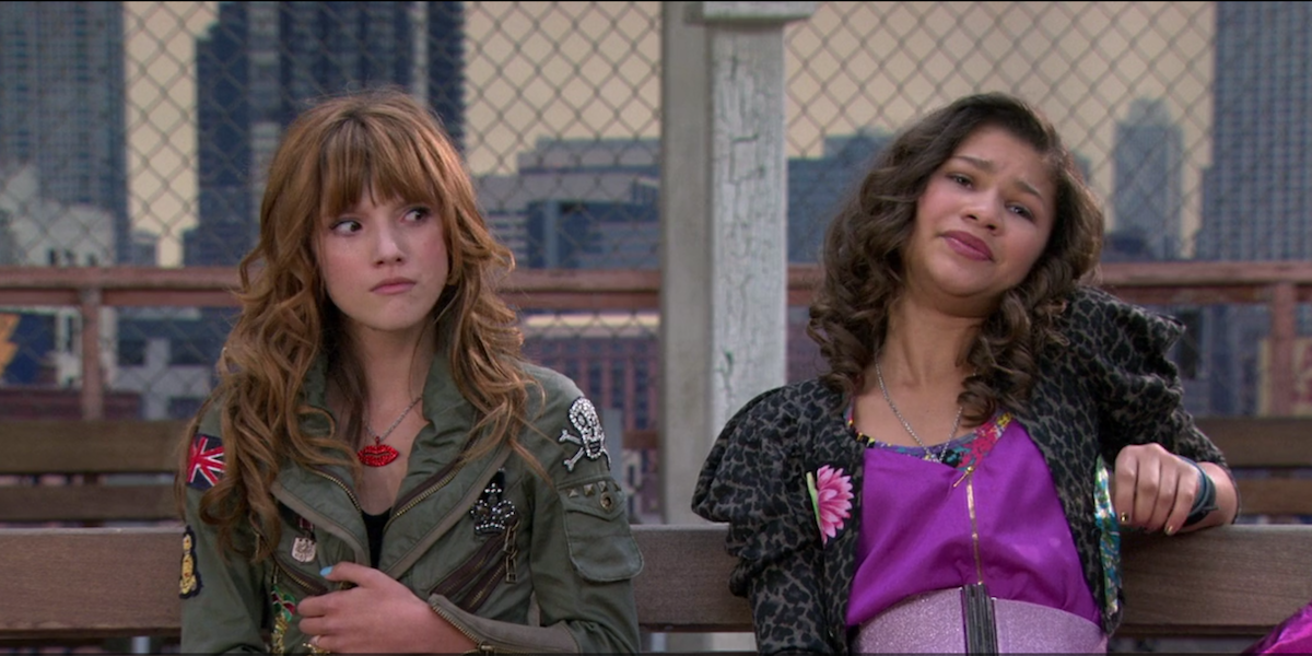 Zendaya and Bella Thorne in Shake It Up