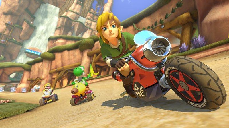 Mario Kart 8 DLC Screenshots Reveal New Characters, Tracks #31829