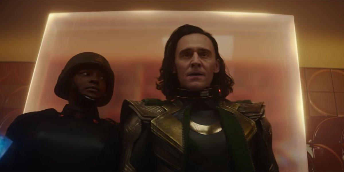 Loki in Episode 1 'Glorious Purpose' Disney+