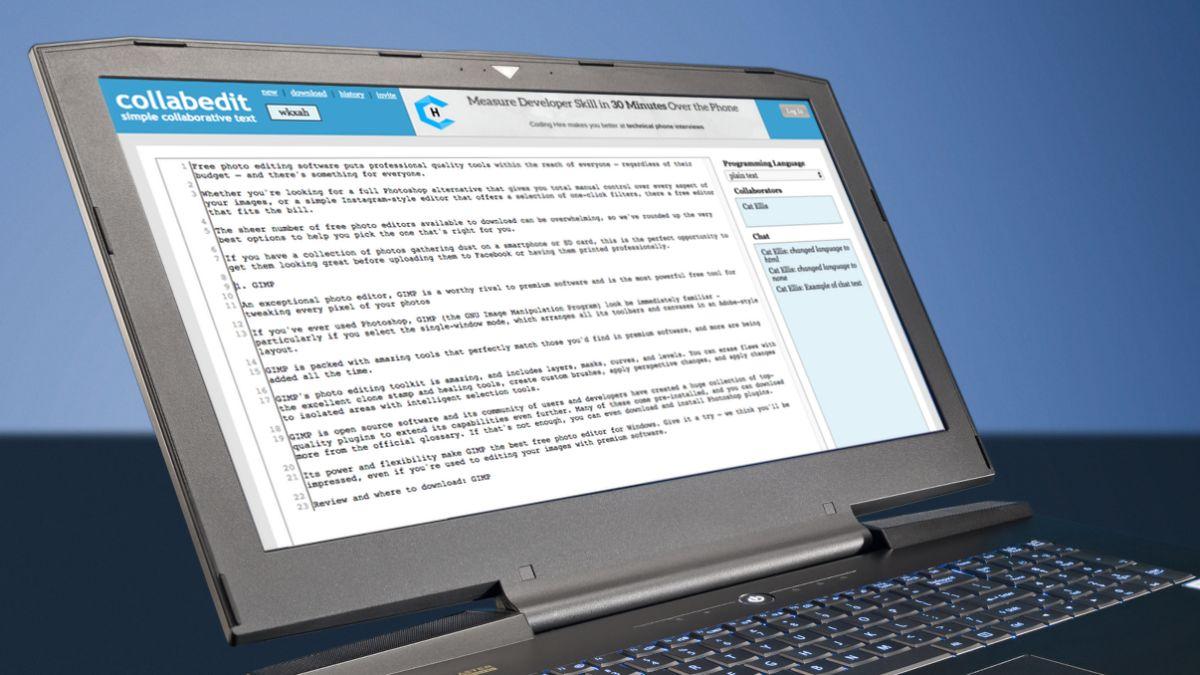 Edit writing online