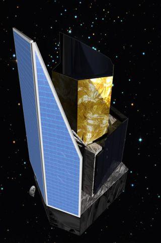 Artist Impression Euclid Spacecraft