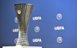Europa Conference League trophy