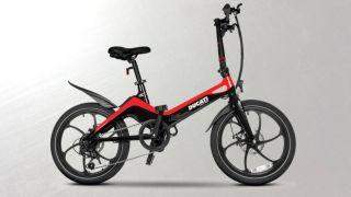 Ducati MG20 magnesium frame folding e-bike