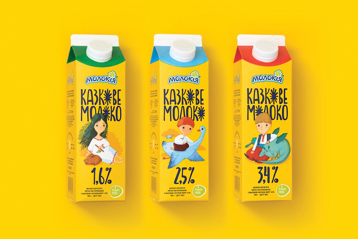Fairy Milk product line