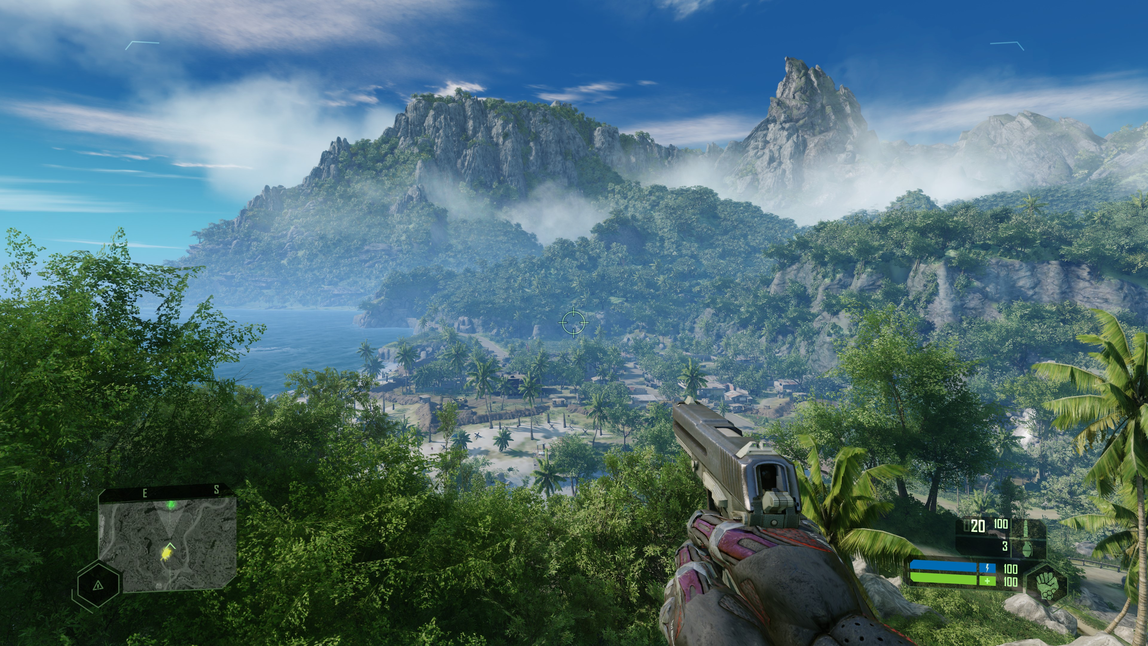 Crysis Remastered's highest graphics setting is called 'Can it run Crysis?'