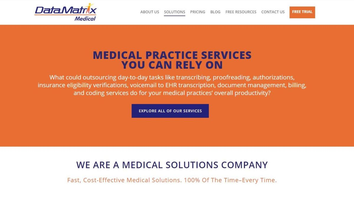 DataMatrix Medical review