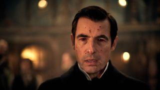 Claes Bang as Count Dracula.