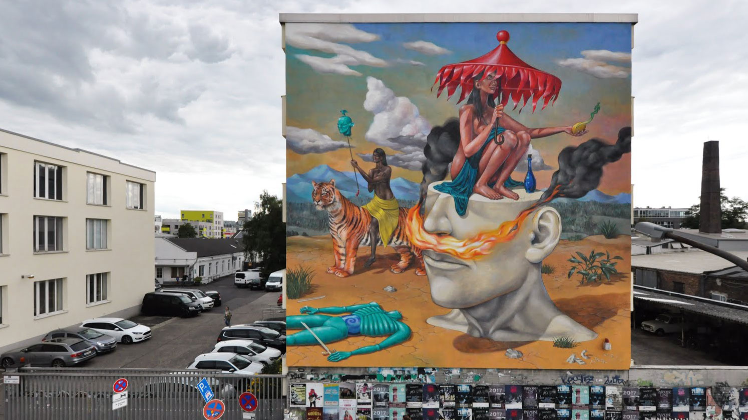 Street art: Interesni Kazki