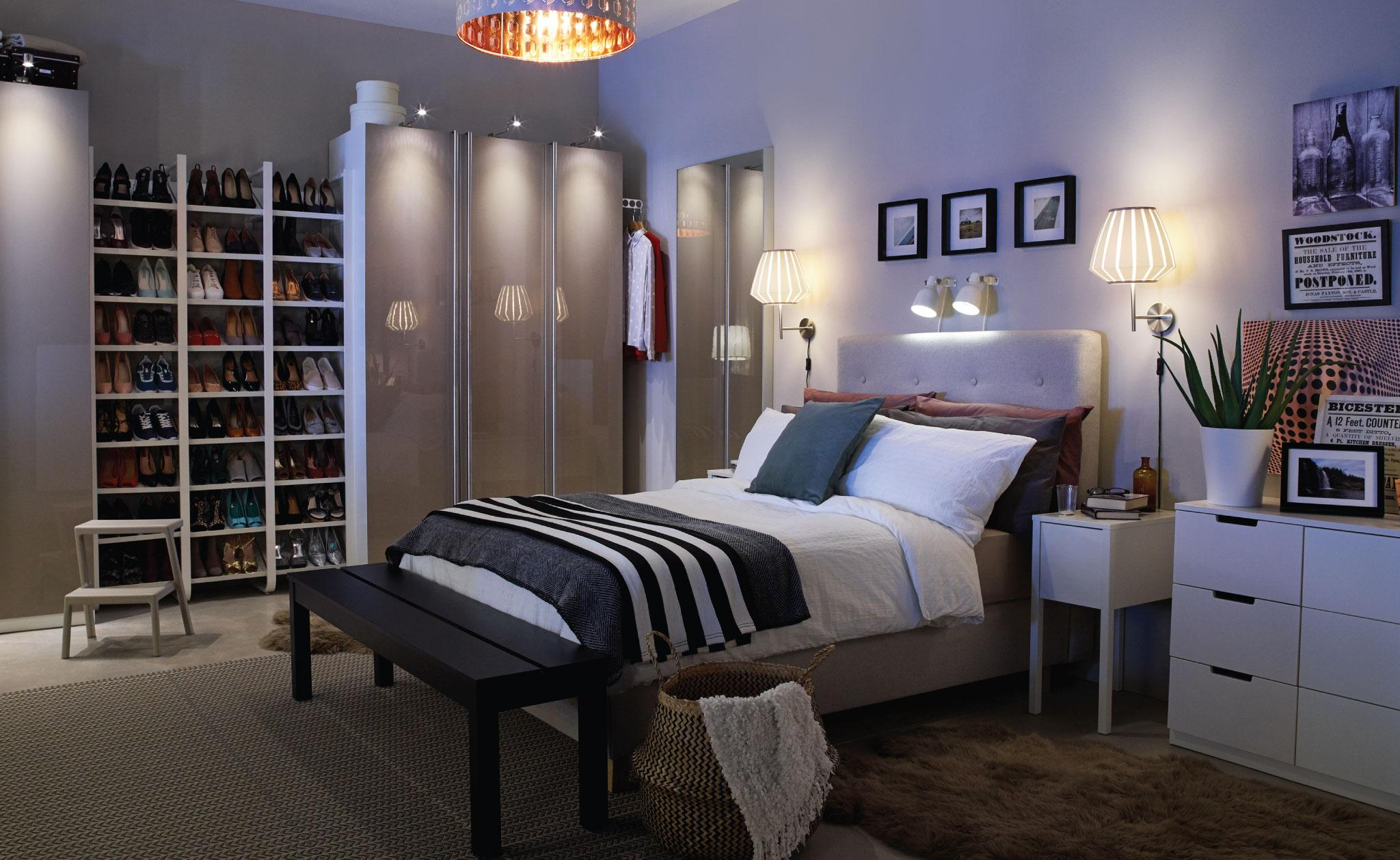 5 Ikea Bedroom Lighting Ideas Perfect For A Cosy Revamp In An Instant Real Homes