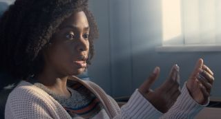 Teyonah Parris as Captain Monica Rambeau in 'WandaVision.'
