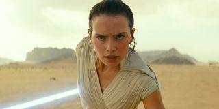 Daisy Ridley as Rey in Star Wars: Rise of Skywalker