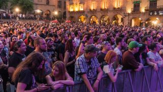 Crowd at the Be Prog! My Friend festival in Spain