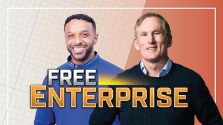 'Free Enterprise' stars Brian Hamilton, Ryan Smith.